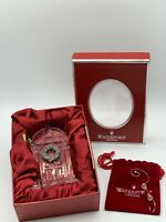 NEW Waterford Crystal 2007 Our First Home Glass Ornament Made in Ireland Gift
