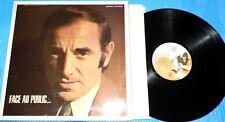 Charles Aznavour - Face au Public / 1968 Barclay LP France