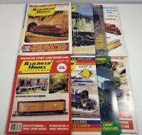 Vintage 1987 Railroad Model Craftsman Magazine Lot Of 8