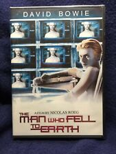 Rare - Brand New - David Bowie - The Man Who Fell to Earth DVD - Factory Sealed