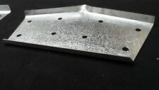 Pressed Purlin Brackets 8inch/200mm shed part 1 Apex 3mm Gal High Tensile Steel
