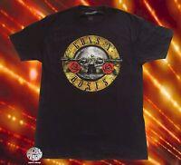 New Guns N Roses Appetite for Destruction Black Classic Retro T-Shirt