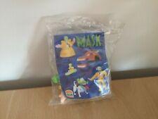 VINTAGE 1998 BURGER KING KIDS CLUB THE MASK SPINNING MASK BNIP RARE