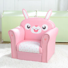 Children Sofa Marshmallow Furniture Soft Cute Rabbit Kid Sofa With Armest Couch