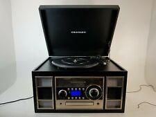 New listing Crosley Cr2413A-Bk Memory Master Ii Cd Usb Turntable Record Cassett Player Black