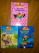 3 Kinderbücher Der Bücherbär Erstleser. Karo Karotte / Himbeervampire / ABC-Hexe