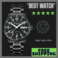 Carnival T25 Tritium Light Gas Luminous Quartz Military Waterproof Men's Watch