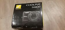Coolpix S6800 Digital Camera Nikon 16mp wifi 12x zoom valentine's gift vacation