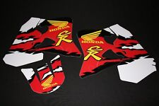 HONDA  CR125-1995-97 CR250 1995-96 RETRO  MX GRAPHICS KIT STICKER KIT STICKERS