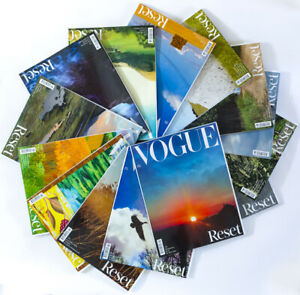 FULL SET - ALL 14 Vogue August 2020 David Hockney Sims Juergen Teller Tim Walker