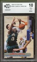 2003 Sports Illustrated for Kids LeBron James Rookie Card #264 BGS BCCG 10 Mint+