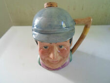 Good Vintage Hand Painted Kelsboro Ware Liquor Flask MR WINKLE Pickwick Series