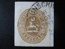 BRAUNSCHWEIG BRUNSWICK GERMAN STATES Mi. #20 used VF stamp! CV $240.00