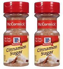 McCormick Cinnamon Sugar 2 Bottle Pack
