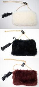 Brand New Thomas Calvi Faux Fur Clutch Bag!! Great for Winter!! FREE P&P