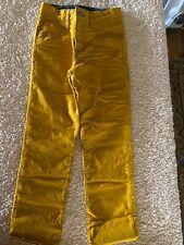 Mini Boden boys jeans yellow 7Y NIP