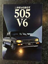 N846 PEUGEOT 505V6
