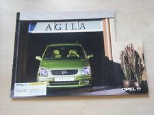 52860) Opel Agila Prospekt 02/2000