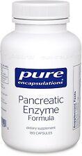 Pure Encapsulations Pancreatic Enzyme Formula 180 Capsules - Digestion