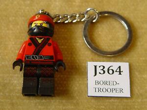 LEGO Gear: The LEGO Ninjago Movie: 853694 Kai Key Chain KEYRING KEYCHAIN KEYS