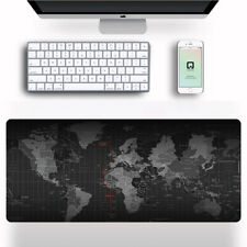 More details for 80x30cm extra large xl size anti-slip gaming mouse pad mat for pc laptop macbook