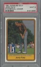 1981 Donruss Golf Jerry Pate Statistical Leader PSA 9 MINT 81914888