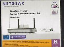 NETGEAR Wireless-N 300 DSL-Router con PUSH N Connect e adattatore USB