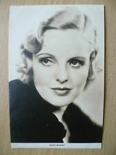 Film Actresses Postcard- JOAN BARRY ''No.2, Film Weekly, London''