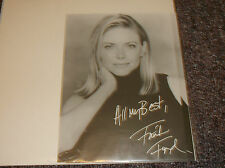 Faith Ford signed 5x7 photo reprint Murphy Brown TV actress