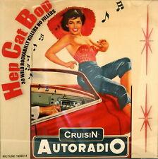 HEP CAT BOP CD - 30 Wild Rockabilly Tracks No Fillers 1950s Rock 'n' Roll - NEW