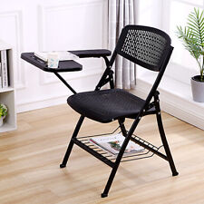Folding Lecture Chair with Table Top for Classroom Lecture Training Conference
