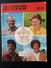 1972 MAY PROFESSIONAL GOLFER MAGAZINE PGA Jack Nicklaus, Lee Trevino,