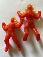 Human Torch | Marvel Heroes #6 | McDonald's 2010 | Lot Of 2