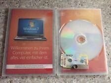 Windows 7 Professional, 32 bit mit Holo DVD, OEM Vollversion mit MwSt Rechnung
