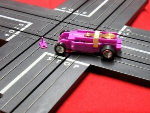 Light Purple T-Dash Tjet Chassis Chrome Deep dish Turbine wheels
