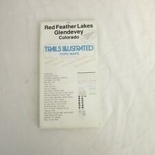 National Geographic Trails Illustrated Red Feather Lakes Glendevey CO #111