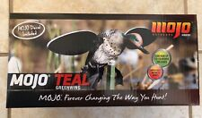 NEW MOJO OUTDOORS GREEN WING TEAL SPINNING WING DUCK DECOY