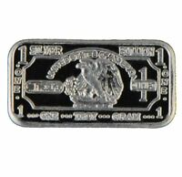 Silver Eagle 1 (one) Gram .999 Pure Solid Silver bullion Mini Silver New ArtBar