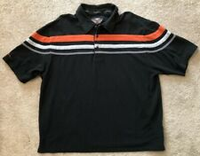 Harley Davidson Pullover Casual Shirt, Men's XXL, 100% Cotton