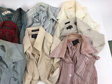 Mens Vintage Button Down Shirt Lot, 14 pieces short / long sleeve 1960's-1990's