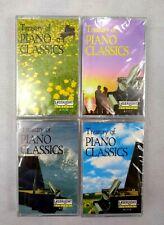 New Treasury Piano Classics Volume 1, 2, 3 & 5 Classical Cassette Tape Set of 4