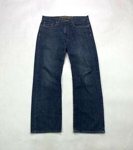 American Eagle Loose Fit Mens Size 31 X 32 Dark Wash Denim Jeans