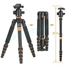 Brand Portable Digital Camera SLR Tripod Monopod Ball Head With Bag For Travel