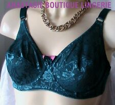LINGERIESEXYGRANDESTAILLESSOUTIENS-GORGESATINEEMBOITANT/REDUCTEURBRODEPETROL100D