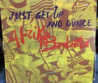 AFRIKA BAMBAATAA JUST GET UP AND DANCE LP 1991 EMI V-56225