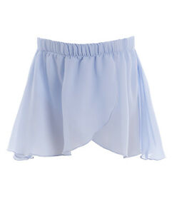 Energetiks CS02 baby blue mock wrap skirt size childs  medium