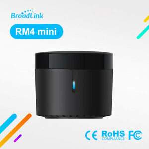 Broadlink RM4 Mini WiFi IR Smart Remote Controller Work with Alexa Google
