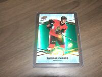 2018-19 upper deck ice green # 45 thomas chabot