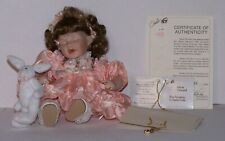Ashley Tiny Tot Marie Osmond Porcelain Doll with Necklace & Certificate