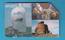 SCHEDA ITALIA USATA 2000 PRIVATE RESE PUBBLICHE SARDEGNA GOLDEN  n. 331